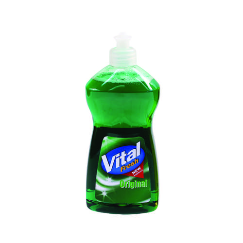 Vital Fresh Washing Up Liquid 500ml (Pack of 12) WX00215