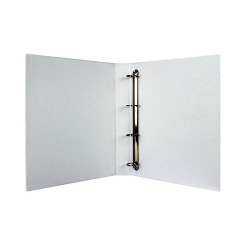 White 25mm 4D Presentation Binder (Pack of 10) WX01325
