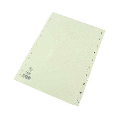A4 White 1-10 Polypropylene WX01353