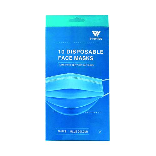 Disposable 3Ply Face Mask (Pack of 200) WX07354