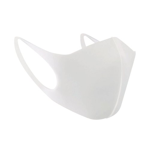 Whitebox Reusable Polyurethane Face Mask White WX07415
