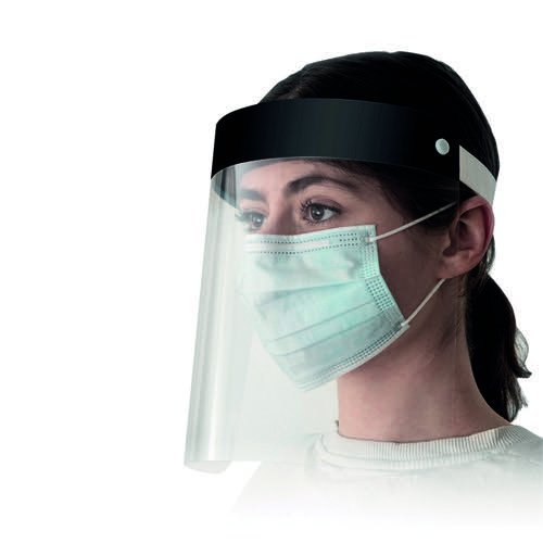 Superguardpro Visor Black (Pack of 4) WX07664