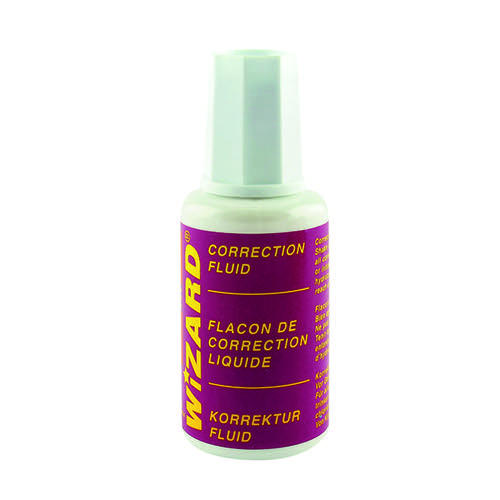 Correction Fluid 20ml (Pack of 10) WX10507