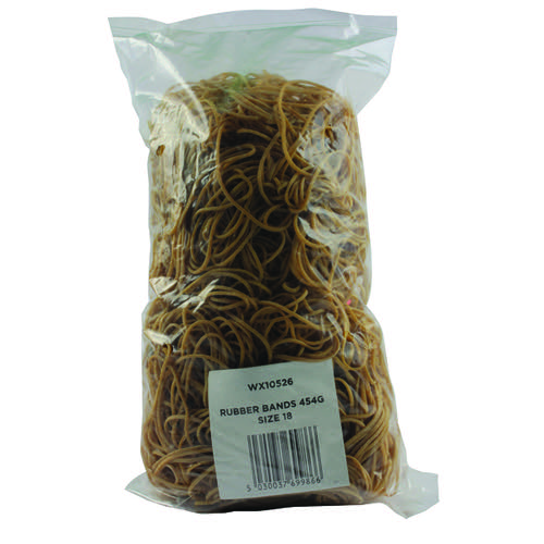 Size 18 Rubber Bands (Pack of 454g) 9340015