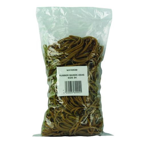 Size 34 Rubber Bands (Pack of 454g) 3105063