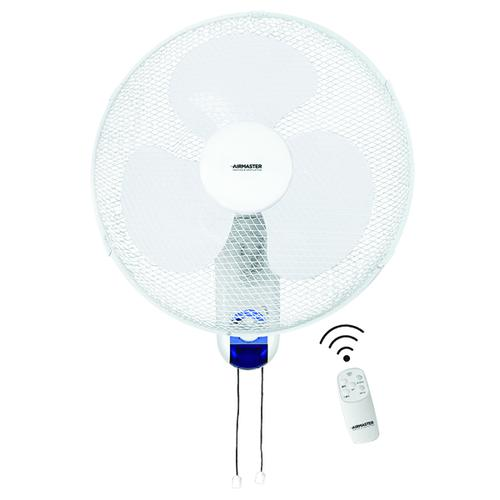 Whitebox Remote Control 3 Speed Wall Fan 60 Watt 16 Inch WL16RT