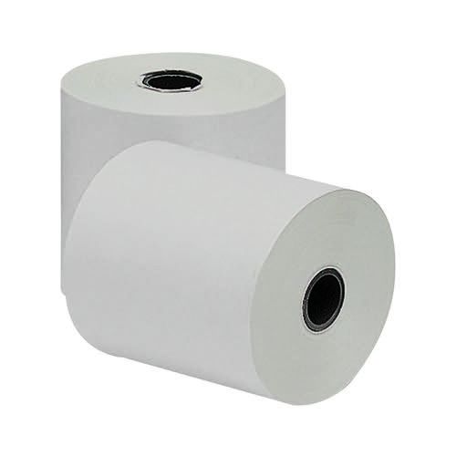 White Pink and Yellow 3-Ply Till Paper Roll 76x76mm (Pack of 20) AD3767612