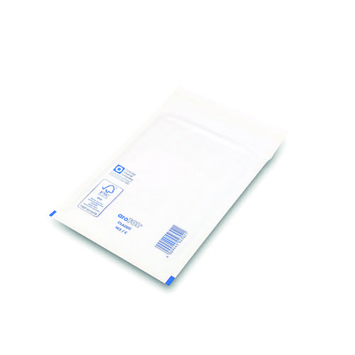 Bubble Lined Envelopes Size 3 150x215mm White (Pack of 100) XKF71448
