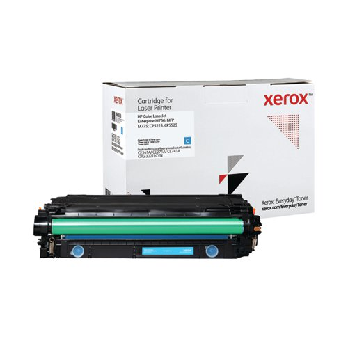 Xerox Everyday Replacement For CE341A/CE271A/CE741A Laser Toner Cyan 006R04148