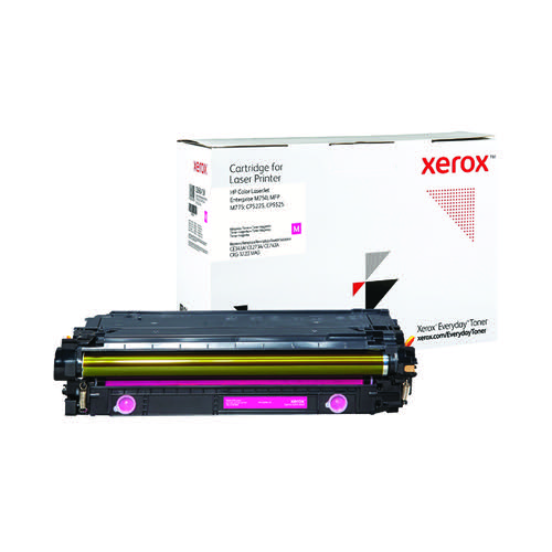 Xerox Everyday Replacement For CE343A/CE273A/CE743A Laser Toner Magenta 006R04150