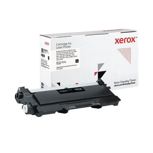 Xerox Everyday Replacement For TN-2220 Laser Toner Black 006R04171