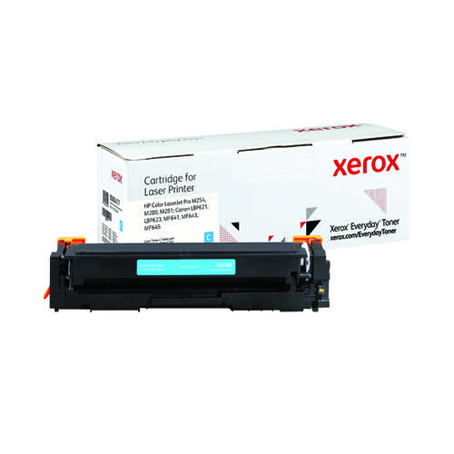 Xerox Everyday Replacement For CF541A/CRG-054C Laser Toner Cyan 006R04177