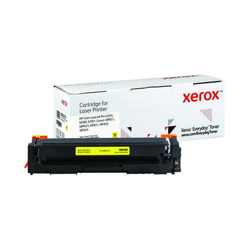 Xerox Everyday Replacement For CF542A/CRG-054Y Laser Toner Yellow 006R04178