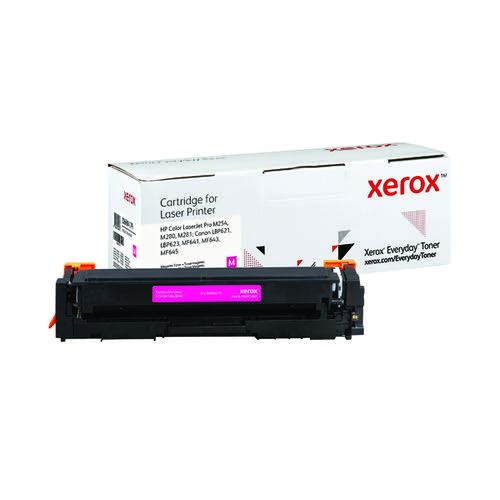 Xerox Everyday Replacement For CF543A/CRG-054M Laser Toner Magenta 006R04179