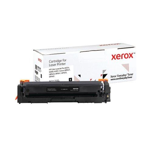Xerox Everyday Replacement For CF540X/CRG-054HBK Laser Toner Black 006R04180