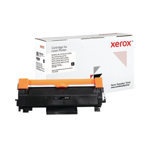 Xerox Everyday Replacement For TN-2420 Laser Toner Black 006R04204