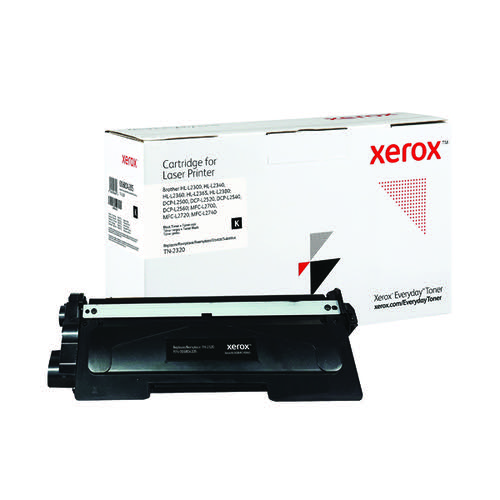 Xerox Everyday Replacement For TN-2320 Laser Toner Black 006R04205