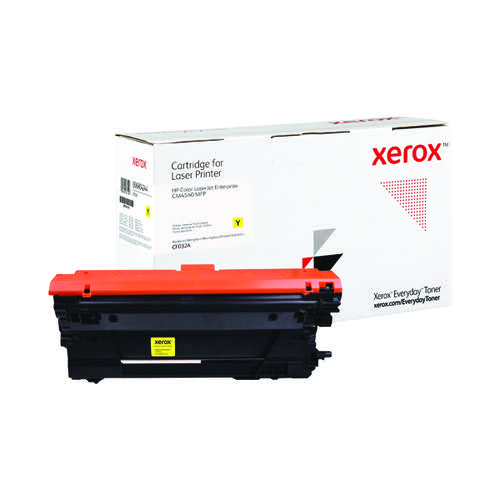 Xerox Everyday Replacement CF032A Laser Toner Yellow 006R04244