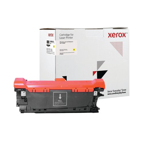 Xerox Everyday Replacement CF322A Laser Toner Yellow 006R04253