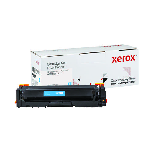 Xerox Everyday Replacement CF531A Laser Toner Cyan 006R04260