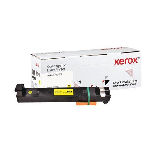 Xerox Everyday Replacement 44318605 Laser Toner Yellow 006R04283