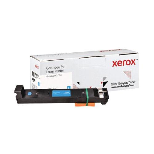 Xerox Everyday Replacement 44318607 Laser Toner Cyan 006R04285