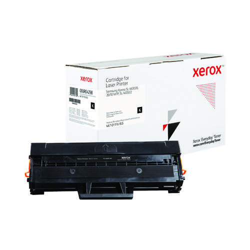 Xerox Everyday Replacement MLT-D111L Laser Toner Black 006R04298