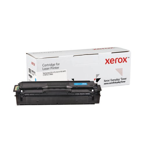 Xerox Everyday Replacement Toner Cyan For Samsung Printers 006R04309