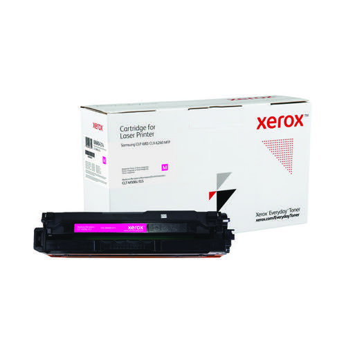 Xerox Everyday Replacement Toner High Yield Magenta For Samsung Printers 006R04314