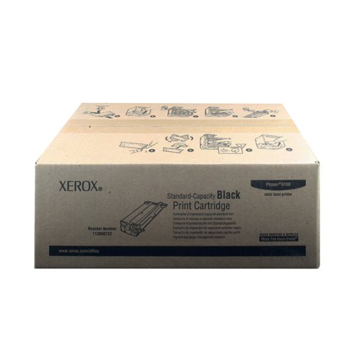 Xerox Phaser 6180 Black Laser Toner Cartridge 113R00722