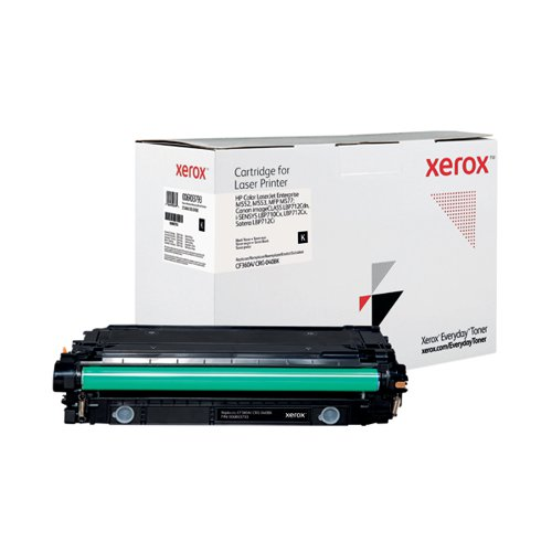 Xerox Everyday Replacement For CF360A/CRG-040BK Laser Toner Black 006R03793