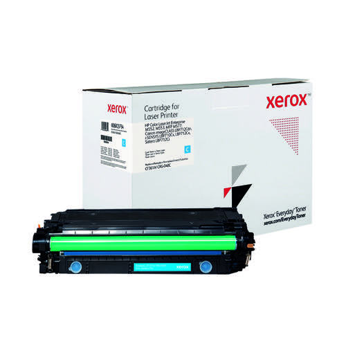 Xerox Everyday Replacement For CF361A/CRG-040C Laser Toner Cyan 006R03794