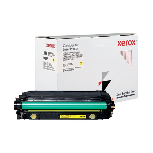 Xerox Everyday Replacement For CF362A/CRG-040Y Laser Toner Yellow 006R03795