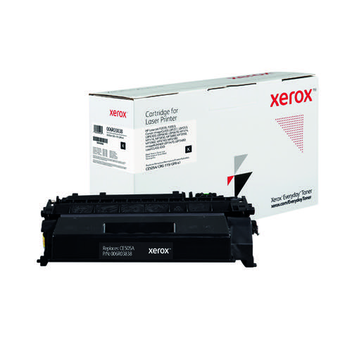 Xerox Everyday Replacement For CE505X/CRG-119II/GPR-41 Laser Toner Black 006R03839