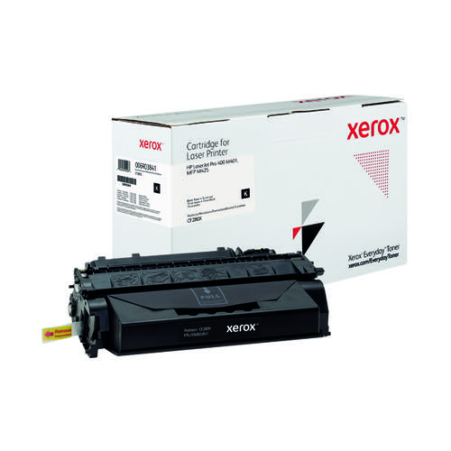 Xerox Everyday Replacement For CF280X Laser Toner Black 006R03841