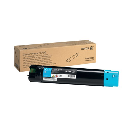 Xerox Cyan Toner Cartridge 106R01503