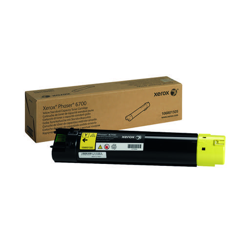 Xerox Yellow Toner Cartridge 106R01505