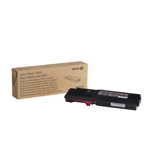 Xerox Phaser 6600 Magenta High Capacity Toner Cartridge 106R02230