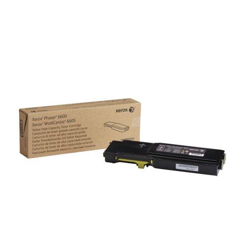 Xerox Phaser 6600 Yellow High Capacity Toner Cartridge 106R02231