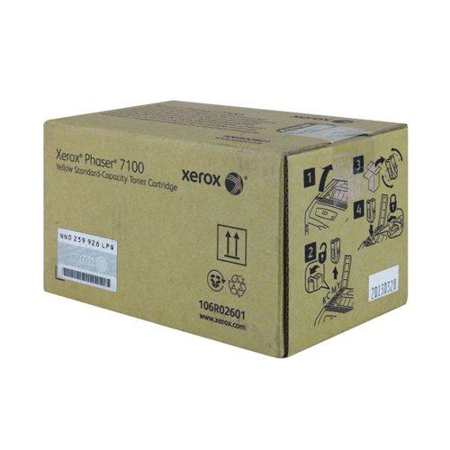 Xerox Phaser 7100 Yellow Laser Toner Cartridge 106R02601