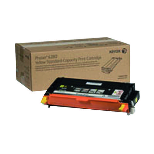 Xerox Phaser 6280 Yellow Toner Cartridge 106R01390
