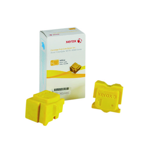 Xerox ColorQube 8570 Yellow Ink Stick 4.4K (Pack of 2) 108R00933