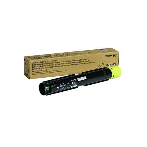 Xerox VersaLink C7000 Yellow High Yield Toner Cartridge 106R03758