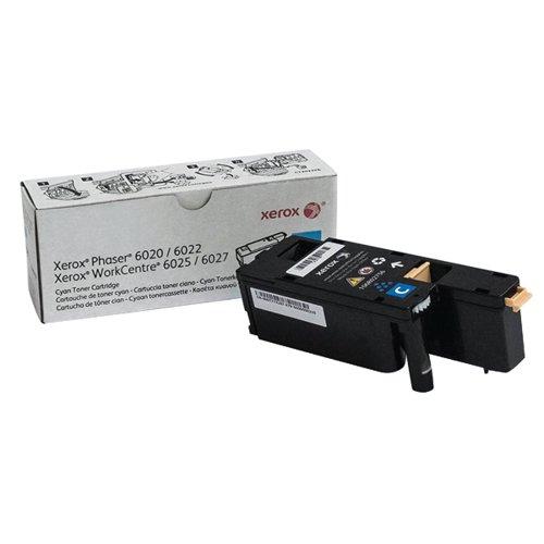 Xerox WorkCentre 6025/6027 Cyan Toner Cartridge 106R02756