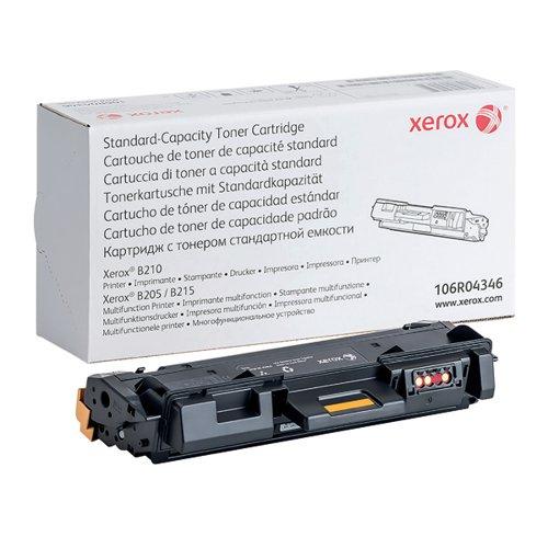 Xerox B210/B205/B215 Standard Capacity Toner Cartridge Black 106R04346