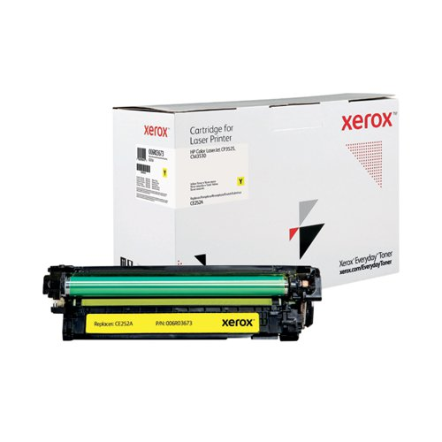 Xerox Everyday Replacement For CE252A Laser Toner Yellow 006R03673