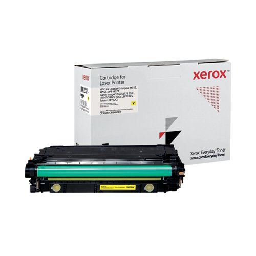 Xerox Everyday Replacement For CF362X/CRG-040HY Laser Toner Yellow 006R03681