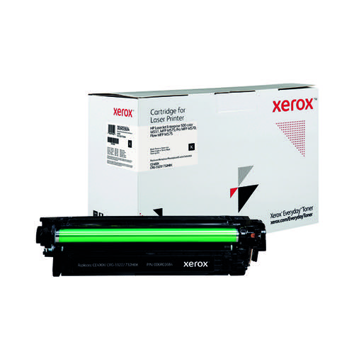 Xerox Everyday Replacement For CE400X Laser Toner Black 006R03684