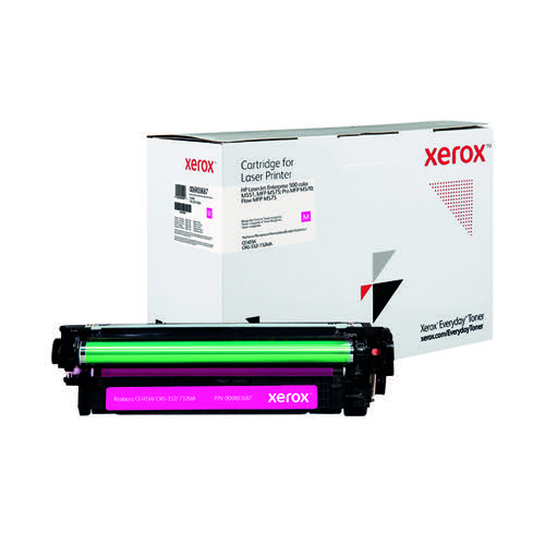 Xerox Everyday Replacement For CE403A Laser Toner Magenta 006R03687
