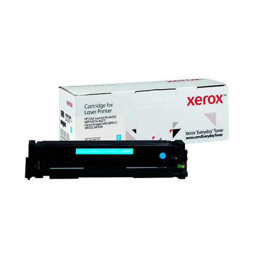 Xerox Everyday Replacement For CF401A/CRG-045C Laser Toner Cyan 006R03689